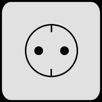 Elektrische Steckdose (md)
