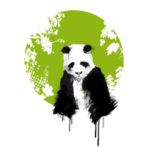 panda welt erde umwelt traurig save klima demo LOL