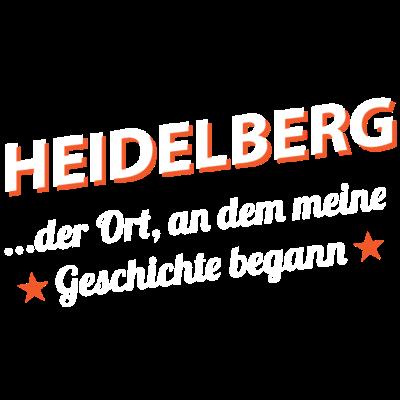 Heidelberg - ...der Ort, an dem meine Geschichte begann - Wohnort,Stadt,Ort,Lebensweg,Leben,Herkunft,Geschichte,Geburtsstadt,Geburtsort,Geburt