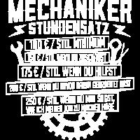 KFZ-Mechatroniker Mechaniker Stundensatz