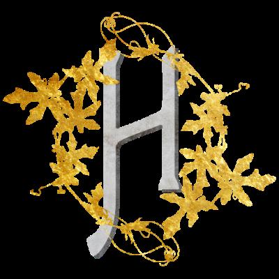 Initials2-H - Initial H - unikat,ranken,persönlich,historisch,cool,cool,arthawk,Personalisiert,Initial,Horst,Hilde,Hermine,Helge,Helga,Hedwig,Hasso,Hartmut,Harry,Hans,Hagen,Gold,Edel,Buchstabe,Blattgold,Anfangsbuchstabe,Alphabet