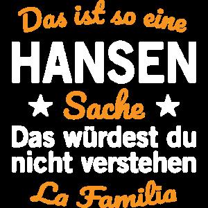Hansen Nachname