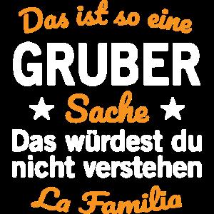 Gruber Nachname