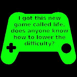 Neues Spiel namens Leben