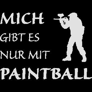 Nur mit Paintball