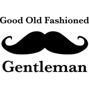 Gentleman's Moustache