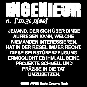 Ingenieur Definition DE