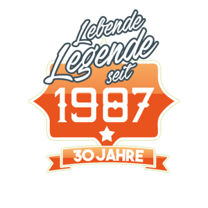 LEGENDE 1987 GEBURTSTAG