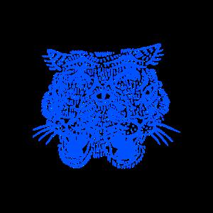 Tiger (Blau)