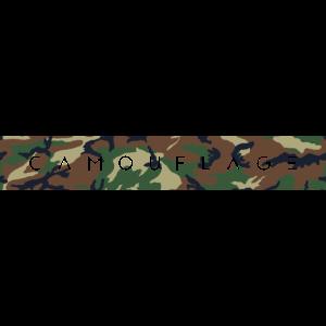 Camouflage Schriftzug