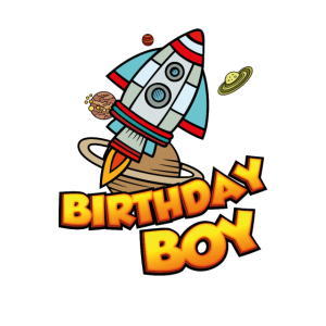 Birthday Boy Weltraumfahrer