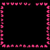Rahmen Herzen