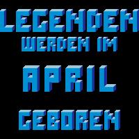 April - Der Geburtsmonat von Legenden!