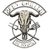 BBQ Best Griller in Town - Geburtstags Geschenk - RAHMENLOS Shirt Design