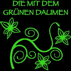 Die mit dem grünen Daumen - Grün