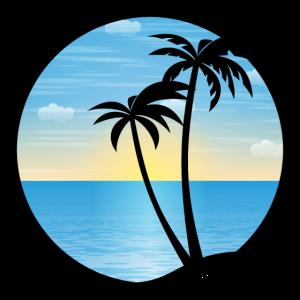 Palmen Urlaub 01 AllroundDesigns