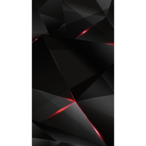 Hot Phone cover, Black red and grey