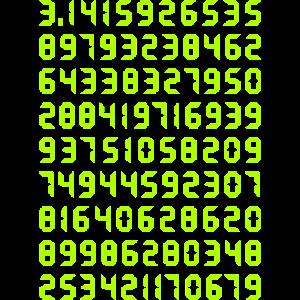 Pi Mathematik Kreiszahl Symbol Genie Big Bang Geek