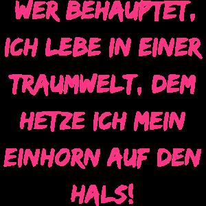 Einhorn Text
