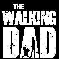 The Walking Dad mit Kinderwagen (weiß)