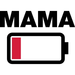 Batterij mama leeg