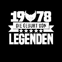 1978 - Geburt - Legenden