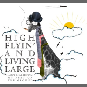 High flying Giraffe