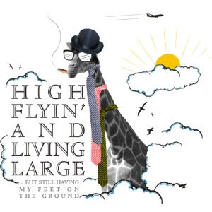 High flying Giraffe
