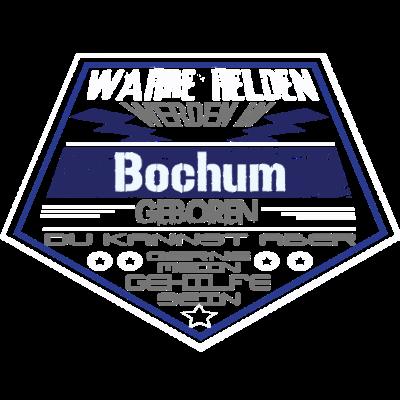 Wahre Helden Bochum - Sichere dir dieses einzigartige Design und zeige allen das Wahre Helden aus Bochum kommen. - Superhelden,leben in Bochum,leben in,geboren in Bochum,Nordrhein-Westfalen,lustig,geboren in,Stadt,Geburtstag,Geburtsort,Superhero,Superheld,Helden,Bochum,bochum