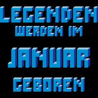 Januar - Der Geburtsmonat von Legenden!