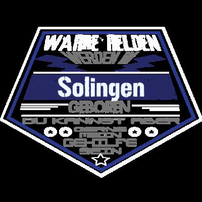 Wahre Helden Solingen - Sichere dir dieses einzigartige Design und zeige allen das Wahre Helden aus Solingen kommen. - Nordrhein-Westfalen,nrw,leben in Solingen,geboren in Solingen,Solingen,solingen,leben in,lustig,geboren in,Stadt,Geburtstag,Geburtsort,Superhero,Superheld,Superhelden,Helden