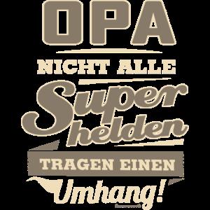 Superhelden Opa - Geburtstags Geschenk - RAHMENLOS Shirt Design