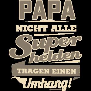 Superhelden Papa - Geburtstags Geschenk - RAHMENLOS Shirt Design