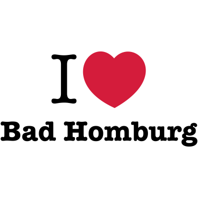 i love bad homburg (mk) - Die wunderschöne hessische Kurstadt Bad Homburg ist vor allem für seinen stolze Titel der Kurstadt bekannt und kann mit vielen weiteren Highlights glänzen. Mit diesem Motiv zeigst du deine Liebe. - vor der Höhe,ich liebe bad homburg,i love bad homburg,Stadt,Rhein-Main,Region,Lieblingsstadt,Kurort,Kreisstadt,Kongressstadt,Hochtaunuskreis,Hessen,Heimat,Gebiet,Bad Homburg