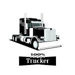 100 Prozent Trucker,best Trucke,Lkw Trucker Design
