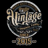 Day One Vintage since 2015 - Original Parts RAHMENLOS Birthday