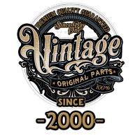Day One Vintage since 2000 - Original Parts RAHMENLOS Birthday