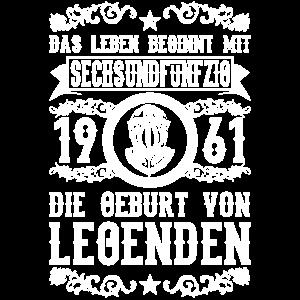 1961 - 56 Jahre - Legenden 2 - 2017