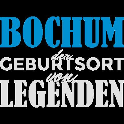Bochum - Geburtsort von Legenden! - Bochum der Geburtsort von Legenden! Du bist in Bochum geboren und stolz darauf? Dann ist das hier das richtige Design für dich! - Stadt,Spruch,Identität,Idee,Geschenkidee,Geschenk,Geburtstagsspruch,Geburtstagskind,Geburtstagsgeschenk,Geburtstag,Geburtsstadt,Geburtsort,Geburt,Bochum,Birthday