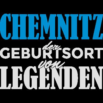 Chemnitz - Geburtsort von Legenden! - Chemnitz der Geburtsort von Legenden! Du bist in Chemnitz geboren und stolz darauf? Dann ist das hier das richtig Design für dich! - osten,ostdeutschland,ostalgie,ddr,Stadt,Spruch,Sachsen,Identität,Idee,Geschenkidee,Geschenk,Geburtstagsspruch,Geburtstagskind,Geburtstagsgeschenk,Geburtstag,Geburtsstadt,Geburtsort,Geburt,Chemnitz,Birthday