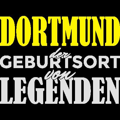 Dortmund - Geburtsort von Legenden! - Dortmund der Geburtsort von Legenden! Du bist in Dortmund geboren und stolz darauf? Dann ist das hier das richtig Design für dich! - Stadt,Spruch,Ruhrpott,Ruhrgebiet,NRW,Identität,Idee,Geschenkidee,Geschenk,Geburtstagsspruch,Geburtstagskind,Geburtstagsgeschenk,Geburtstag,Geburtsstadt,Geburtsort,Geburt,Dortmunder,Dortmund,Birthday