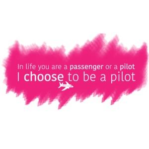 passenger or pilot pink