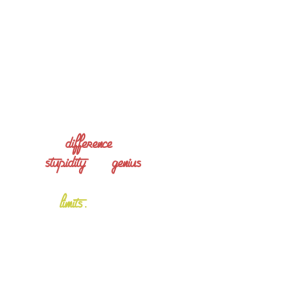 Albert Einstein Hemd mit Genius Zitat
