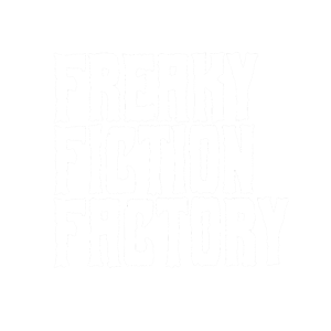 Freaky Fiction Factory Offical Logo Weiß
