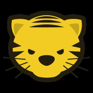 Frech Tiger Kawaii