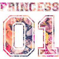 Princess 01 Tochter Familie Kind Baby Geschenk