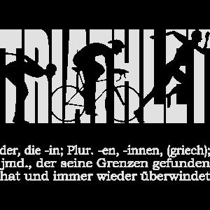 Triathlet - Jemand der seine Grenzen überwindet