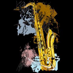 Saxophon Magie