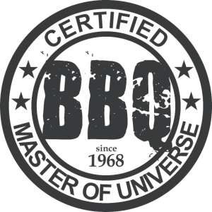 Certified BBQ Master 1968   Grill Geschenk