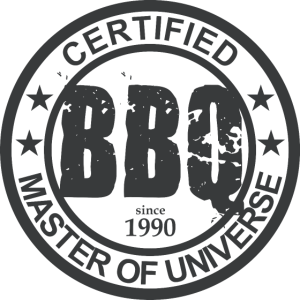 Certified BBQ Master 1990 | Grill Geschenk